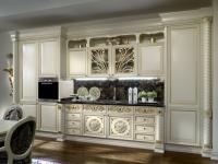 Кухня в стиле барокко — элегантность и роскошь в интерьере кухни (74 фото)