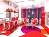 Кухня в стиле поп-арт: ТОП-100 фото красочного и молодежного дизайна