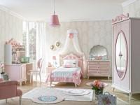 Розовая детская комната — броский и стильный дизайн (50 фото)