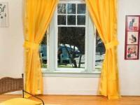 Желтые шторы — 55 фото примеров оформления в интерьере со вкусом