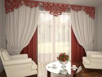 Ажурные шторы: стильные ламбрекены на 70 фото в интерьере