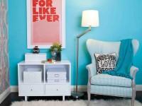 Бирюзовая детская комната — шикарный интерьер бирюзового цвета (80 фото)