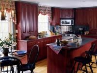 Кухни бордового цвета — фото лучших идей интерьера кухни бордового оттенка