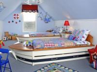 Детская кровать чердак — необычное решение в интерьере (90 фото)