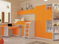 Оранжевая детская комната — идеальная гармония цвета! 70 фото дизайна