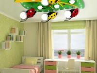 Потолок в детской комнате — 70 фото идеального сочетания в интерьере