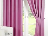 Розовые шторы — нежное сочетание в интерьере (90 фото)