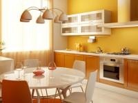 Кухня в золотом цвете: особенности золотистого интерьера + 50 фото