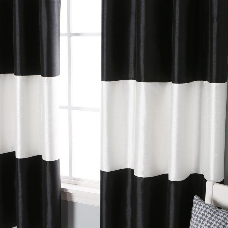 Black curtains target