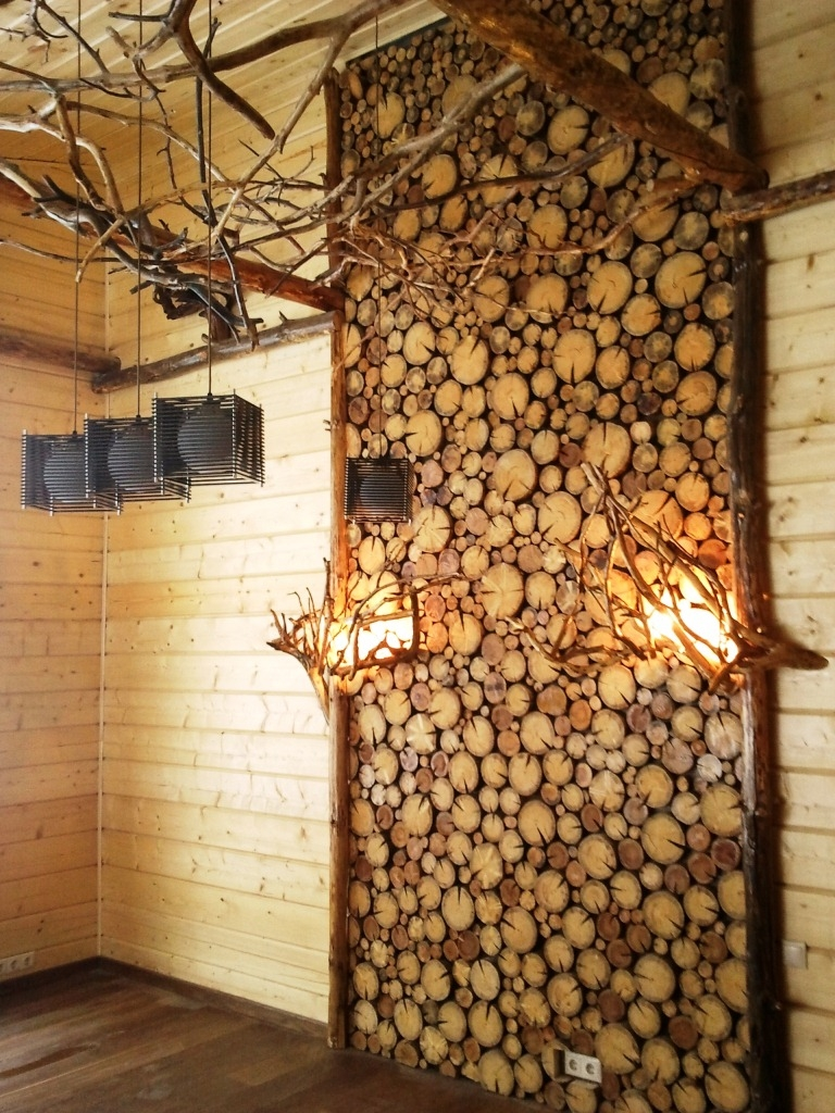 идеи из древесины для декора