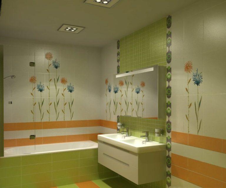 Дизайн маленькой ванной комнаты пластиком
