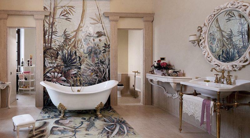 декор ванной комнаты 80 фото оригинальных дизайнерских идей