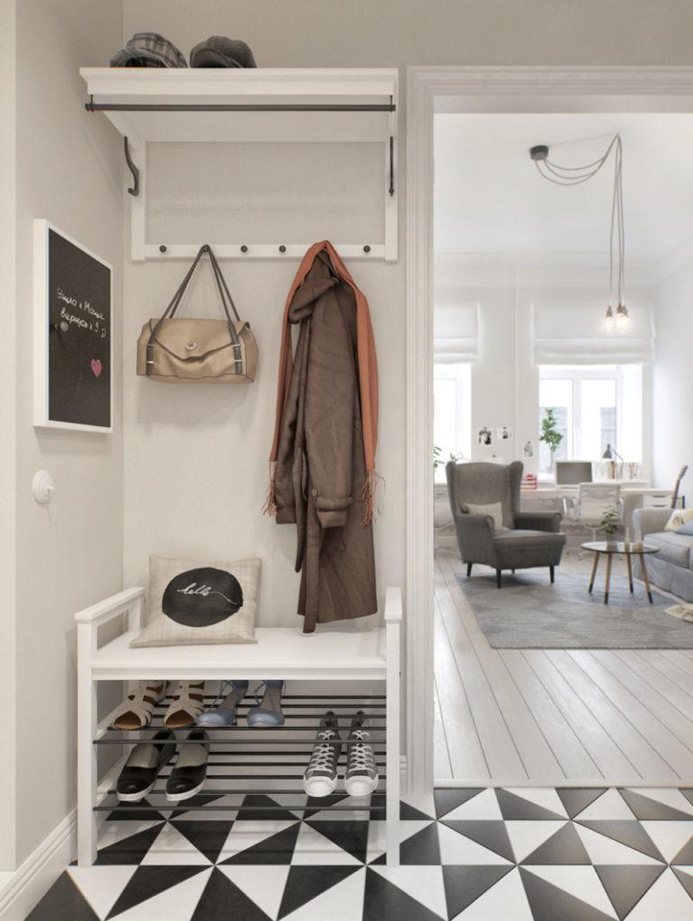 прихожая икеа 80 фото новинок мебели Ikea в интерьере