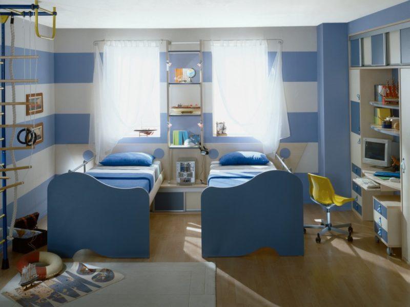 комната для двух мальчиков 100 фото лучших вариантов интерьера