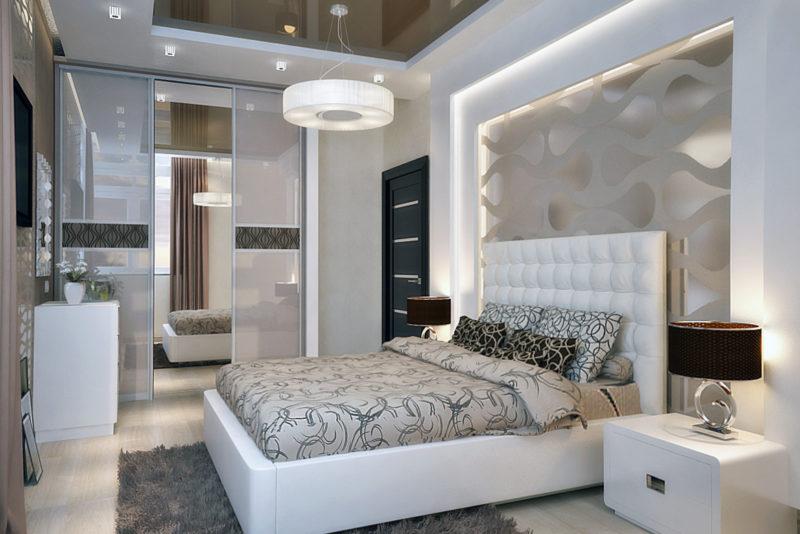 Дизайн спален в современном стиле 15 кв.м