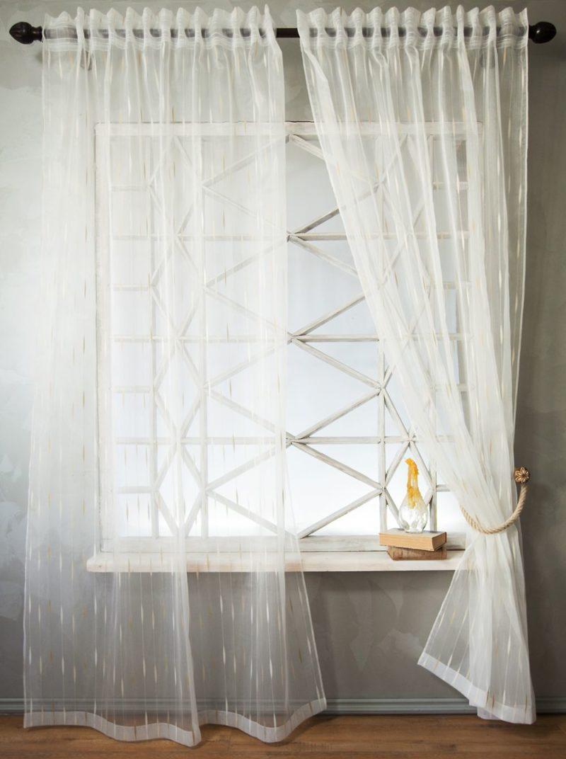 Фото идей тюль и шторы 92