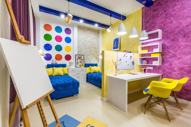 Фото дизайн интерьеров детских комнат
