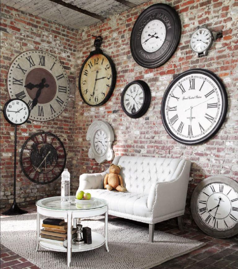 Часы для гостиной своими руками 3