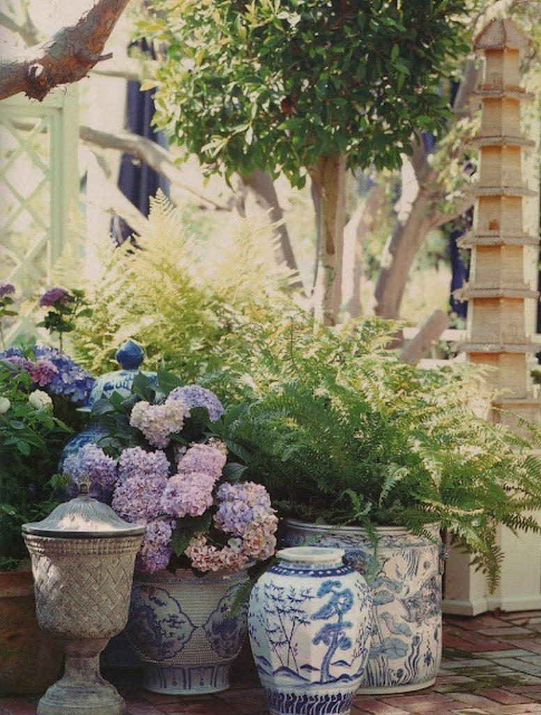 Кашпо для цветов в интерьере