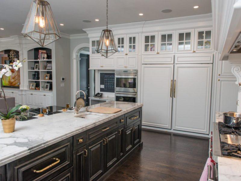 Кухня цвета венге 50 фото лучших новинок дизайна