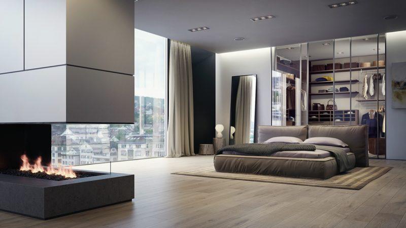 Спальни модные тенденции фото