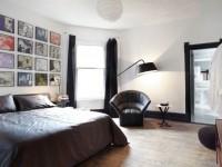 Черные шторы — как правильно сочетать (70 фото дизайна)