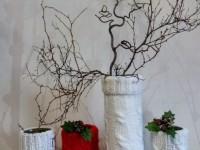 Декор вазы — оригинальные идеи украшения (59 фото)