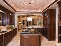 Кухня в коричневом цвете – особенности оформления и дизайна (80 фото)