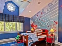 Яркая детская комната — гармония цвета и уюта (80 фото)
