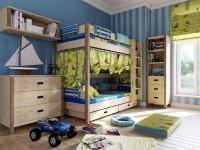 Оформление детской комнаты: особенности дизайна + 70 фото
