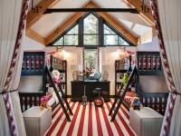 Детская комната в частном доме: особенности оформления уютного дизайна (65 фото)