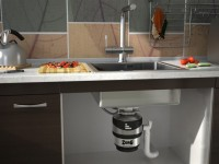 Кухонный диспоузер – как выбрать правильно? Фото в интерьере