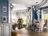 Колонны в интерьере — 75 фото идей декоративного оформления в интерьере