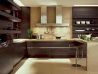 Кухня в шоколадном цвете — 75 фото сочетания шоколадного оттенка на кухне
