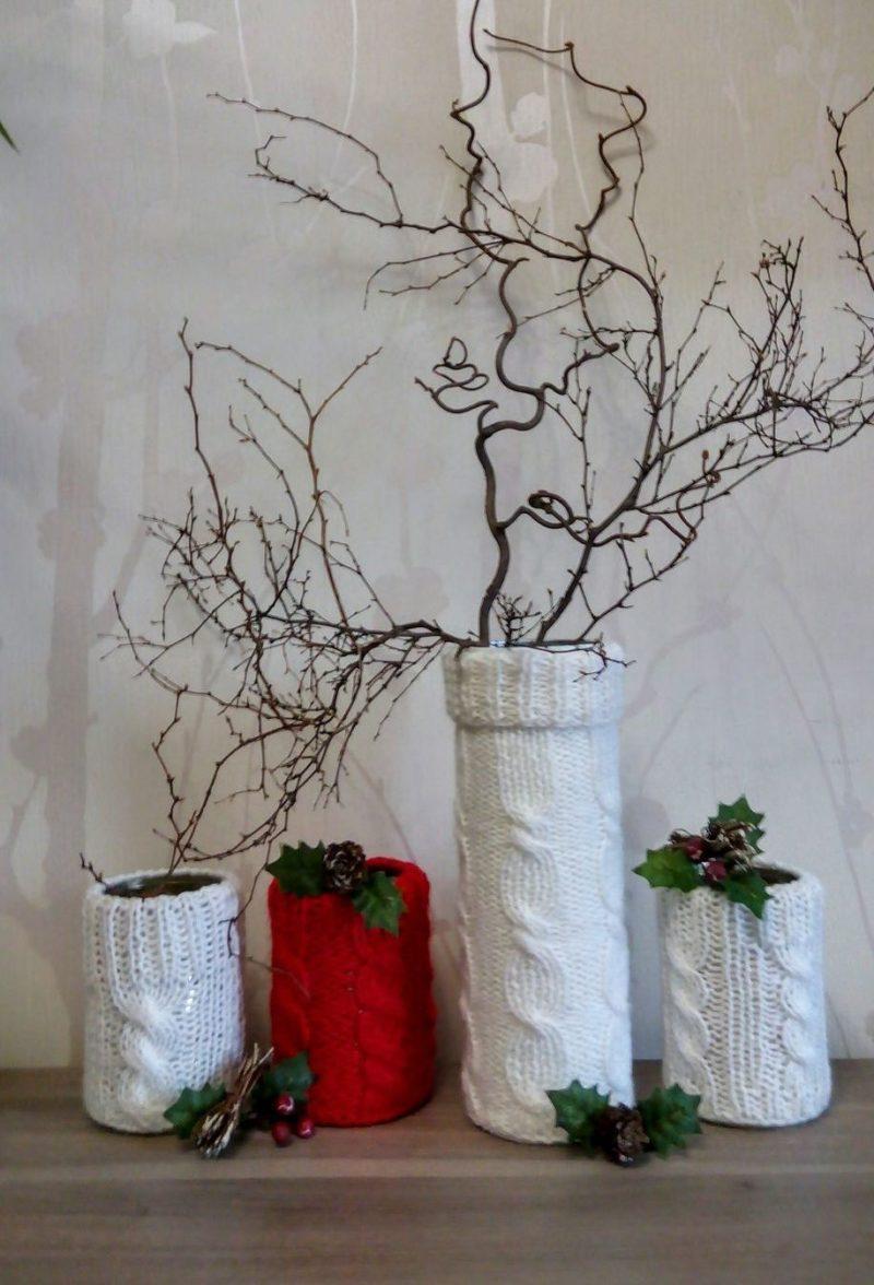 Dekor-vazyi-12 Декор вазы своими руками - фото самых красивых вариантов дизайна