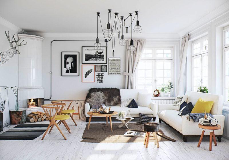 Стулья в скандинавском стиле – варианты в интерьере скандинавского и японского стилях, модерн и кантри, барокко и рококо, хай-тек и минимализм, готика и ампир
