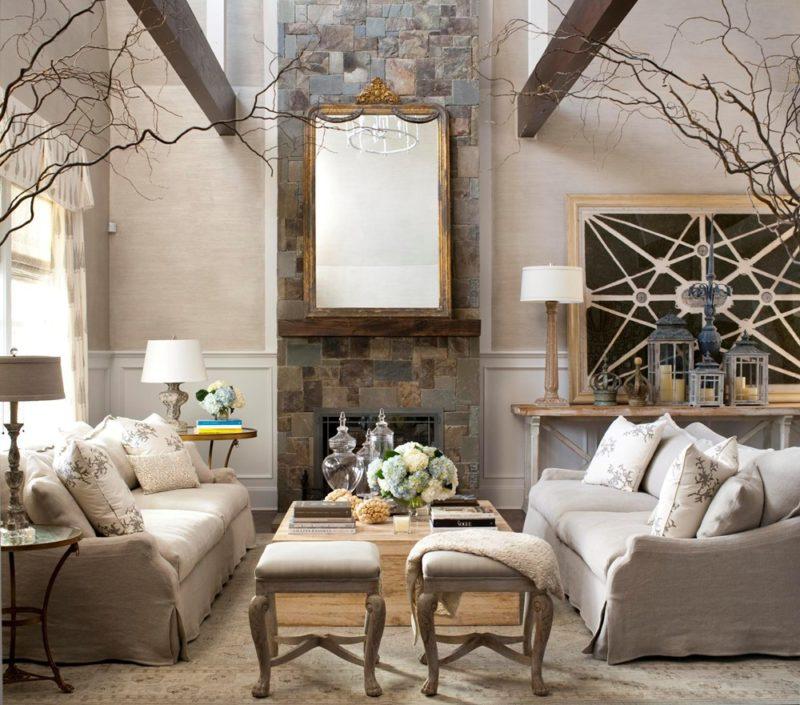 Картинки декор гостиной