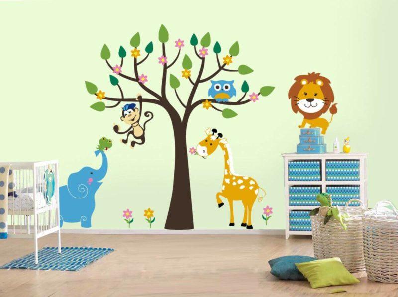 dekorirovanie-detskoy-komnatyi-1 Как украсить детскую комнату в современном стиле